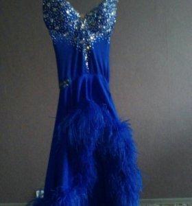 Платье для бальных танцев латино