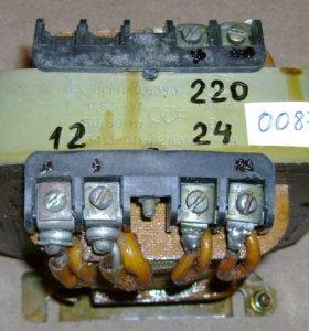 Трансформаторы в гараж 220\36\24\12 Вольт Новые