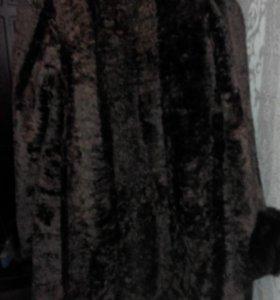 Пальто из овчины