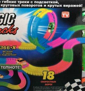 гибкая трасса (Magic tracks) с петлей