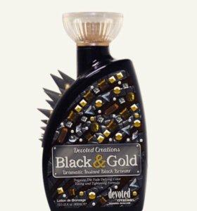 Крем для загара Black & Gold