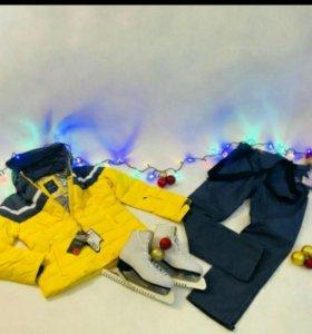 Женские горнолыжные костюмы 44 р-р. Experiance