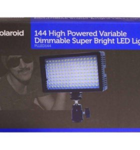 Видеосвет Polaroid 144 led