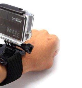 Крепление на руку для экшн камеры GoPro, sjcam, тд