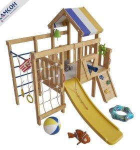 Игровой комплекс кровать-чердак