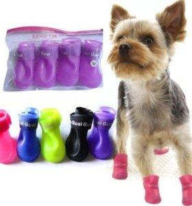 Ботинки/ сапожки для маленькой собачки