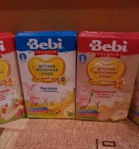 Каши молочные Bebi