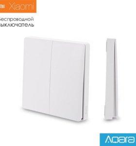 Беспроводной выключатель Xiaomi Aqara (2 клавиши)