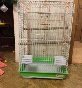 Клетка для большого попугая. Самовывоз.