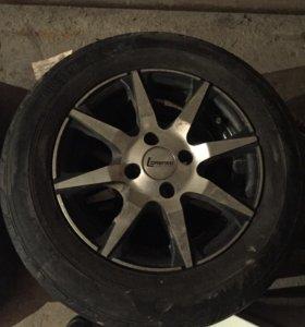 Комплект колёс на литьё