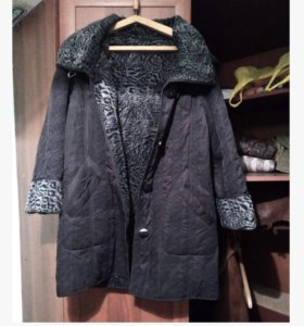 Пальто черное 48-50
