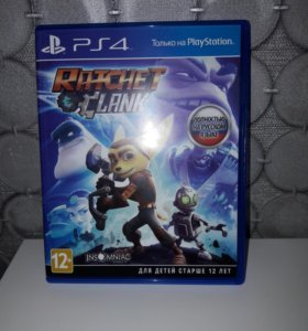 Игра Ratchet &Clank новая🎮🕹🤸♂️