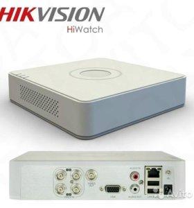 Видеорегистратор HiWatch DS-H104G(4 канальный)