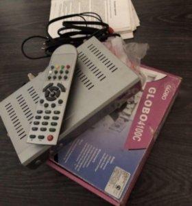Ресивер цифровой новый Globо 4100С
