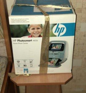 Компактный Фотопринтер НP Photosmart A826 НОВЫЙ!