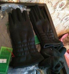 Женские перчатки .НОВЫЕ!