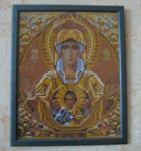 Икона Пресвятая матерь Божья Благая Богородица