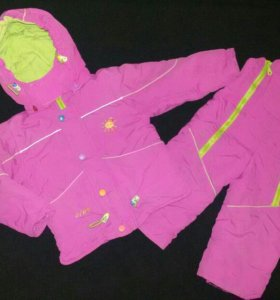 Комплект для девочки куртка и штаны