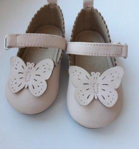 Детские туфельки H&M