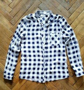 Рубашки h&m, pull&bear (4 штуки)