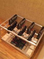 Майнинг ферма 7 карт RX 570 8Gb