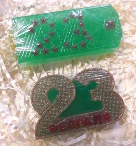 Сувенирное мыло 23февраля
