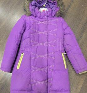 Зимняя куртка на девочку 5-6 лет