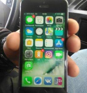 Обменяю айфон 5s