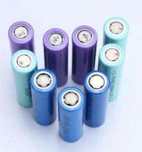 Аккумуляторы 18650 3.7v