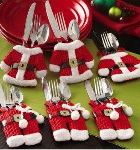 Рождественские украшения Санта-Клаус