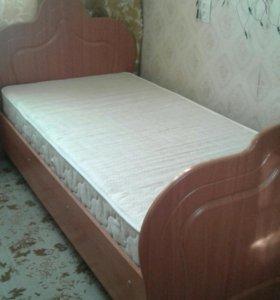 Кровать полутороспальная