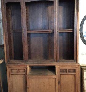 Шкафы библиотечные антиквариат