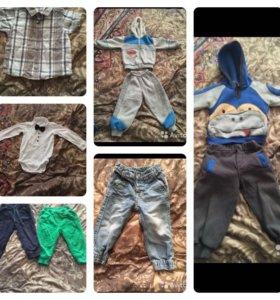 Пакет вещей на мальчика 80-86