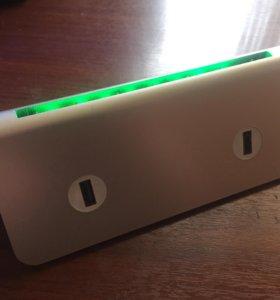 Powerbank 13000 mah USB x4 (меню зарядка)