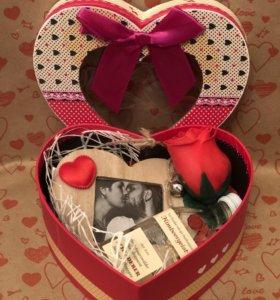 Подарочный набор ко дню всех влюблённых