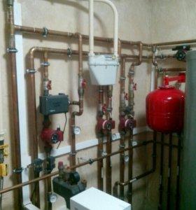 Сантехник, отопление и водоснабжение