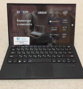 Планшет неутбук DEXP URSUS kx210i+клавиатура