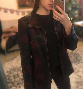 Кожаная куртка 90-е