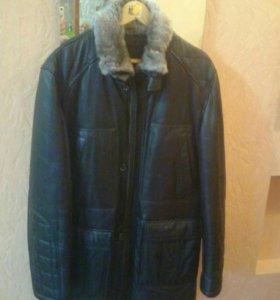 Куртка мужская , кожа, новая