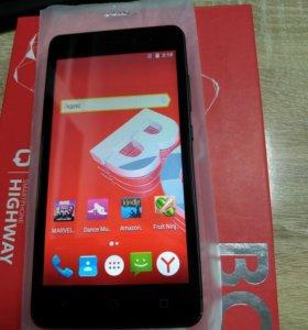 Смартфон BQ HighWay 4G