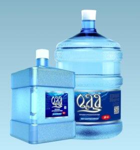 Вода питьевая от 11 л до 19 л с доставкой.