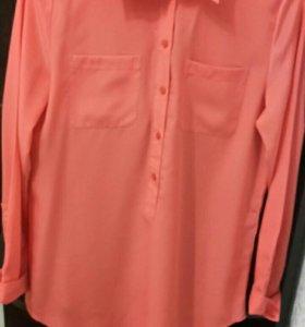 Рубашка-блузка 44