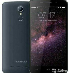 Смартфон HOMTOM HT 17 с отпечатком пальца