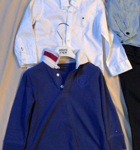Рубахи и брюки на мальчика