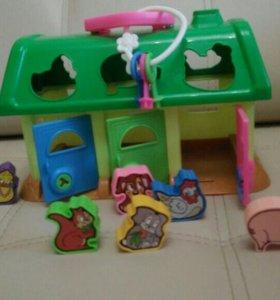 Развивающая игрушка- сортер от 1 до 3 лет