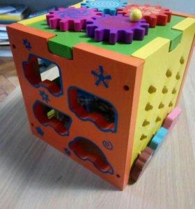 Сортер, развивающие игрушки