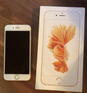 iPhone 6s, 64 gb, розовый