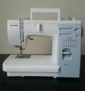 Абсолютно новая швейная машинка Janome 415 / 5515