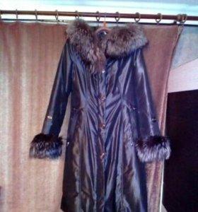 Зимнее пальто. Торг
