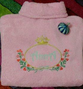 Халаты и полотенца с вышивкой